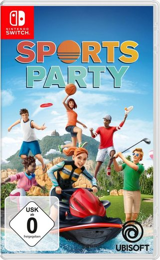 Sports Party Nintendo Switch, Software Pyramide