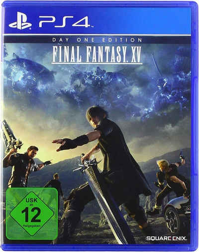 Day One Edition Final Fantasy XV PlayStation 4, Software Pyramide