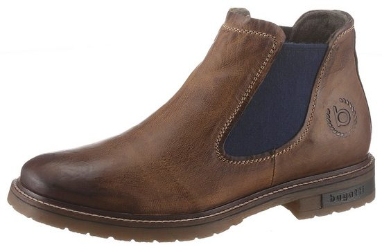 bugatti »Cecco« Chelseaboots mit Soft-fit-Funktion
