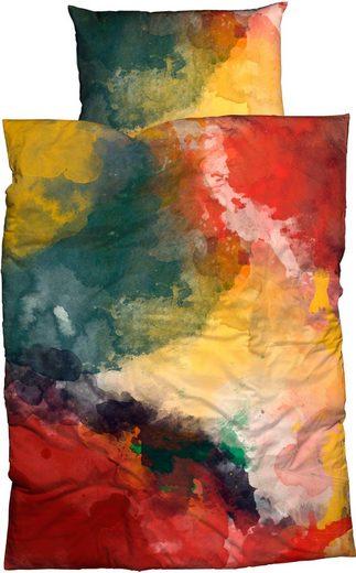 Bettwäsche »Paint«, CASATEX, in Aquaralloptik