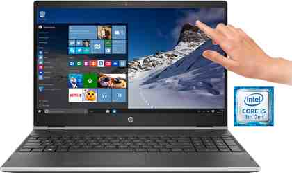 HP Pavilion x360 15-dq0220ng/15-dq0221ng Notebook (39,6 cm/15,6 Zoll, Intel Core i5, 256 GB SSD)