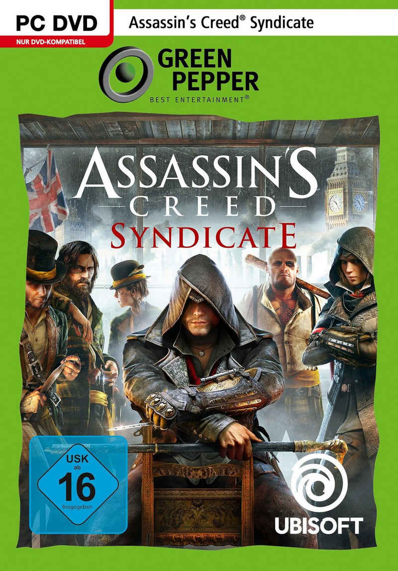 Assassin's Creed Syndicate PC, Software Pyramide