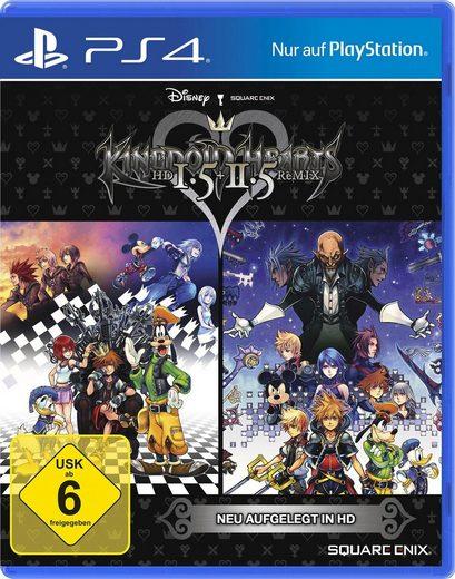 Kingdom Hearts HD 1.5 & 2.5 Remix PlayStation 4, Software Pyramide