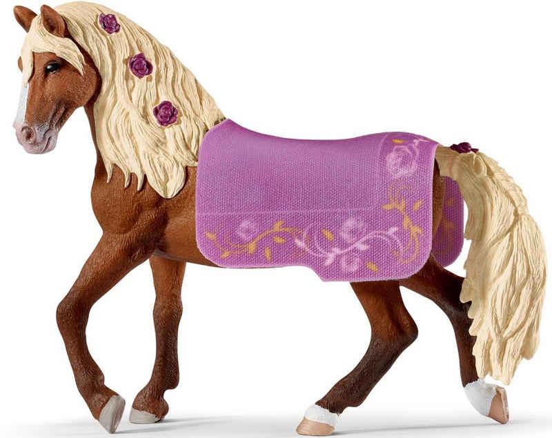 Schleich® Spielfigur »Horse Club, Paso Fino Hengst Pferdeshow (42468)«, mit abnehmbarer Pferdedecke