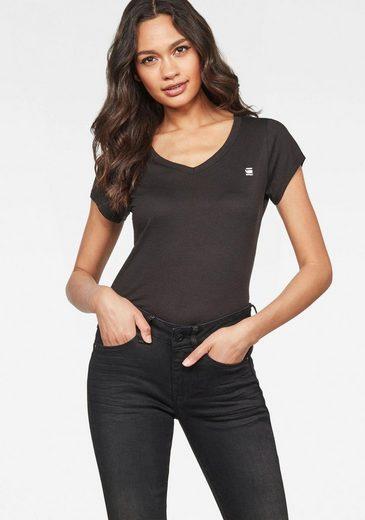 G-Star RAW T-Shirt »Eyben Slim Top« mit kleinen Logo-Frontdruck