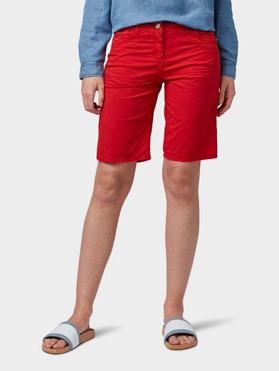 TOM TAILOR Shorts »Chino Slim Bermuda Shorts«