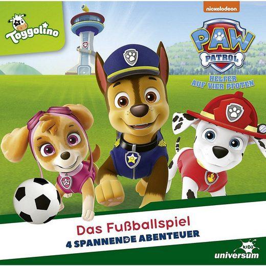 Universum Hörspiel »CD PAW Patrol 22 - Das Fußballspiel«