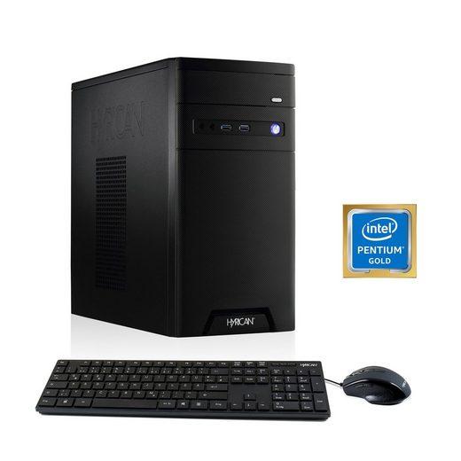 HYRICAN CyberGamer Pentium G5400 8GB 120GB 1TB »Cyber Gamer 6341«