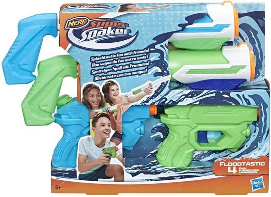 Hasbro Wasserpistole »Nerf - Super Soaker - Party Pack« (Packung, 4-tlg)