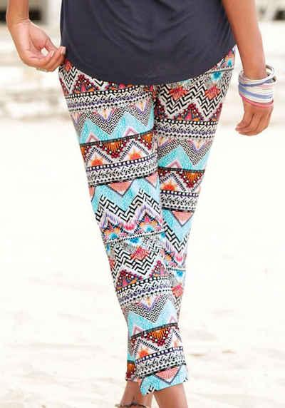 c9243262cd s.Oliver Beachwear Strandhose mit Ethnoprint
