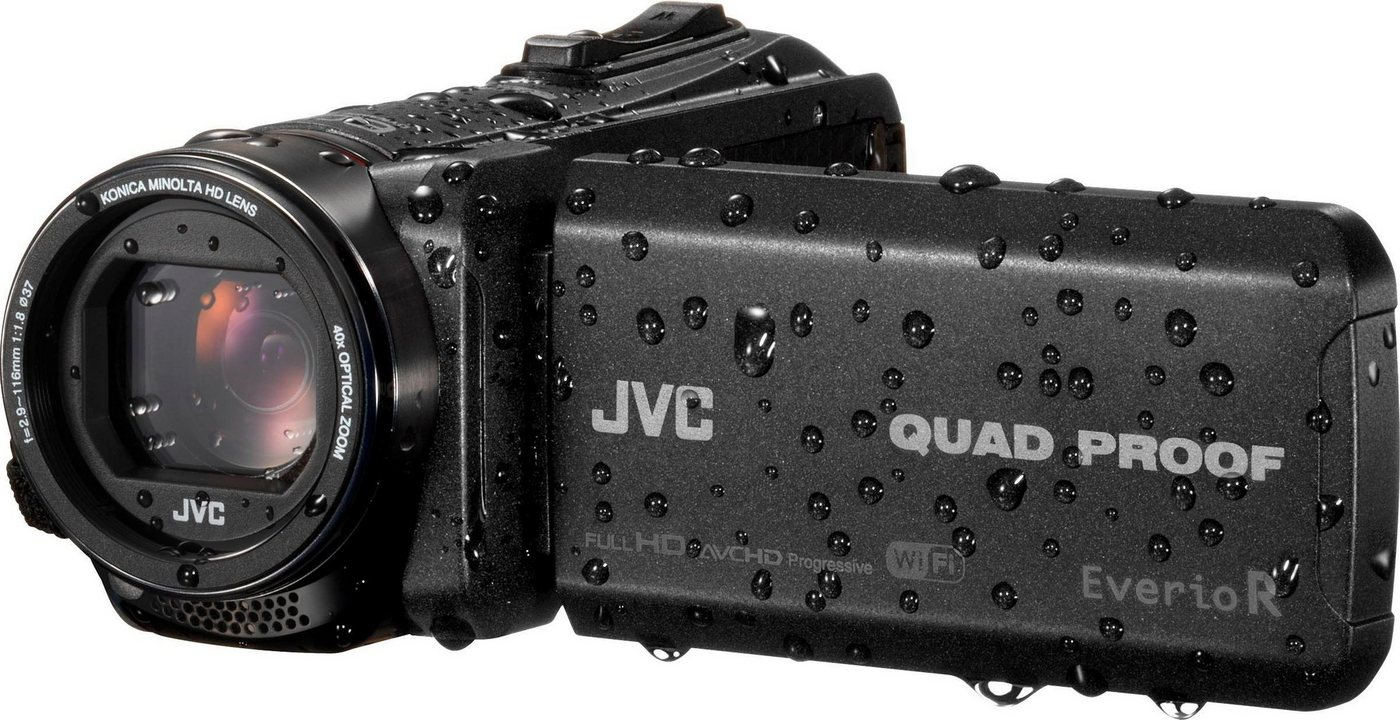 Camcorder - JVC »GZ RX625BEU« Camcorder (Full HD, WLAN (Wi Fi), 40x opt. Zoom)  - Onlineshop OTTO