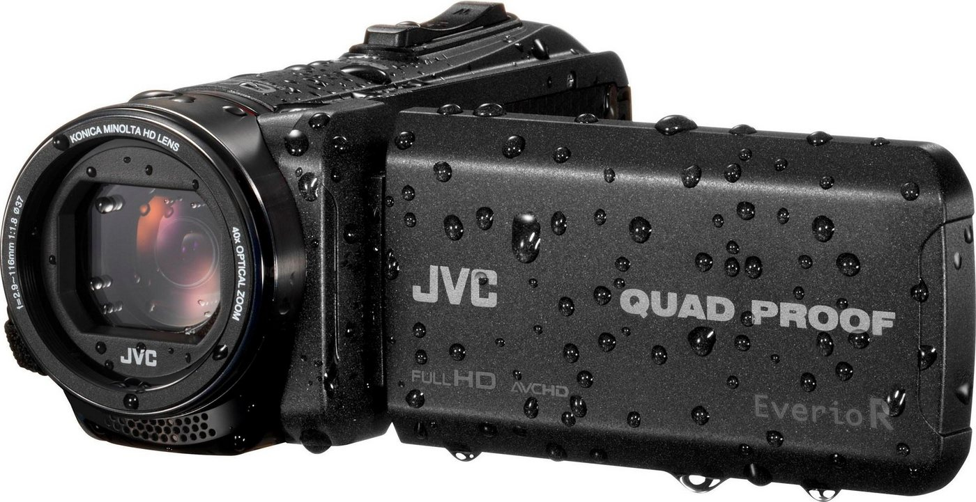 Camcorder - JVC »GZ R445DEU« Camcorder (Full HD, 40x opt. Zoom)  - Onlineshop OTTO