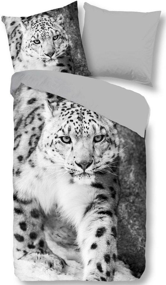 Wendebettwasche Snow Leopard Pure Luxury Collection Mit Leopard Online Kaufen Otto