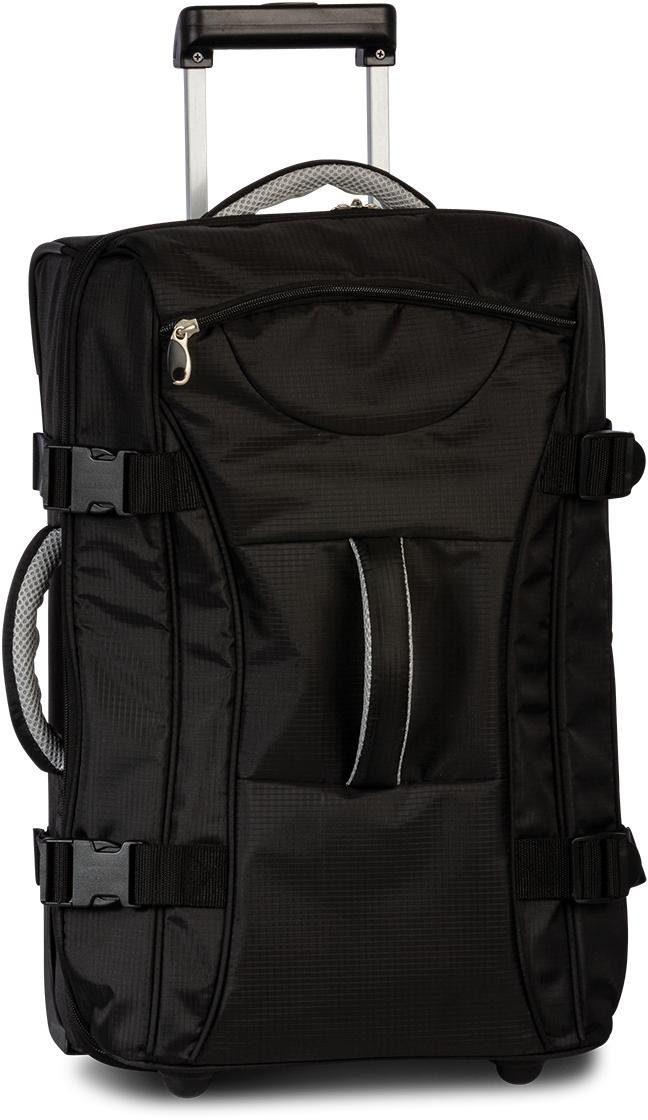 Reisetasche »Bestway Rollenreisetasche, schwarz 55 cm«