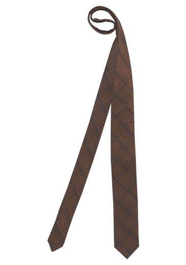 Class International Krawatte, Karomuster mit feiner Struktur