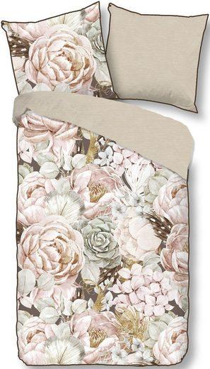 Wendebettwäsche »Suze«, Descanso, mit großen Blüten