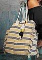 LASCANA Umhängetasche, XL-Strandtasche im Ethnolook, Bild 2