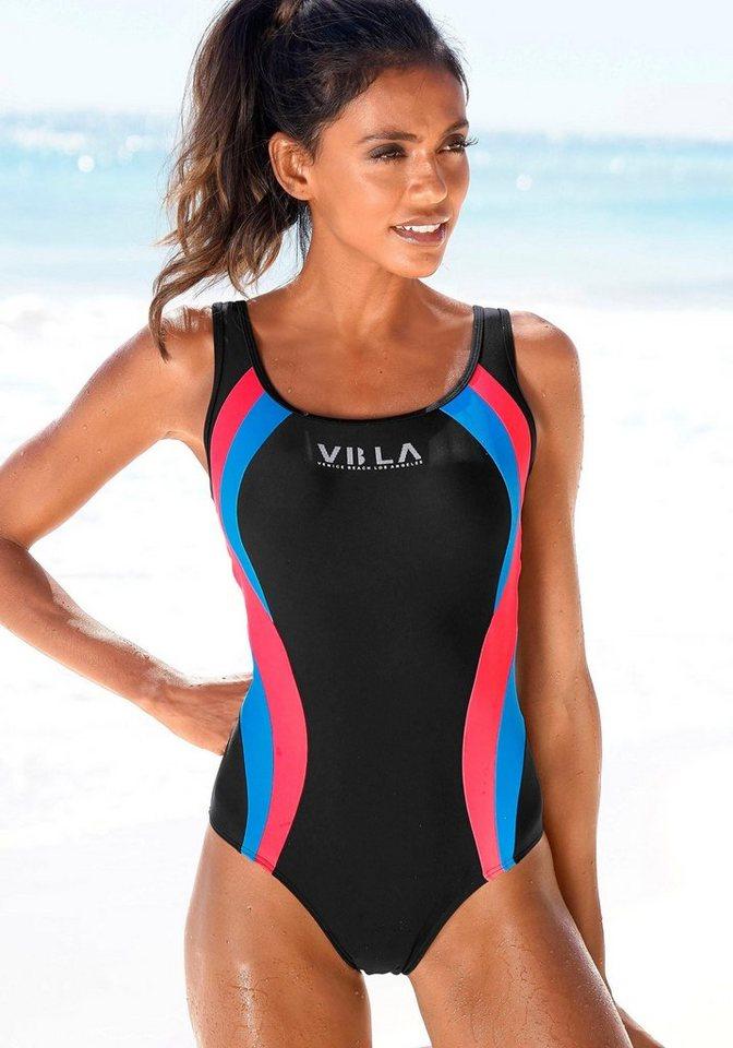 Bademode - Venice Beach Badeanzug, Mit Logodruck und Colorblocking Einsätzen ›  - Onlineshop OTTO
