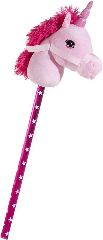 Heunec® Steckenpferd »Einhorn, pink«