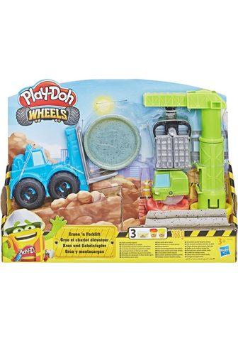 HASBRO Knetset »Play-Doh Wheels Kran & Gabels...
