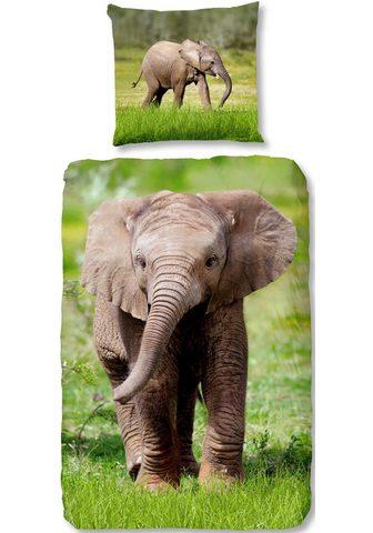 GOOD MORNING Vaikiška patalynė »Elephant«