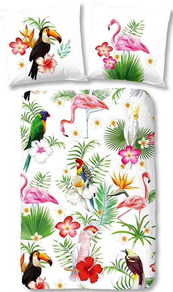 Bettwasche Paradise Good Morning Mit Tieren Otto
