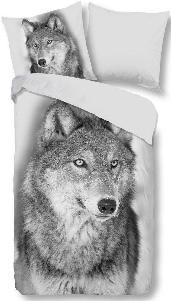 Wendebettwasche Wim Good Morning Mit Wolf Otto