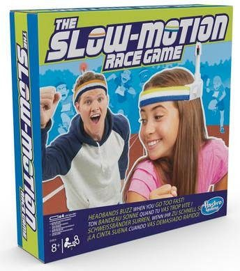 Hasbro Spiel, »The Slow Motion Race Game«