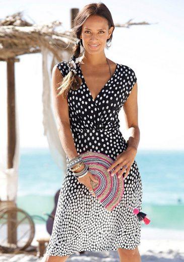 LASCANA Strandkleid im Tupfendesign