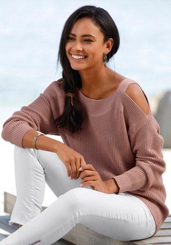 LASCANA Трикотажный пуловер