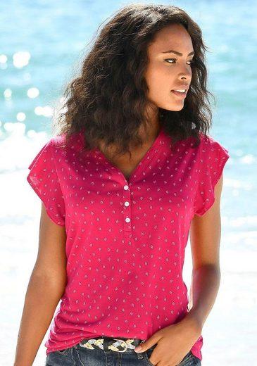 LASCANA Shirttop (2er-Pack) mit Flügelärmelchen