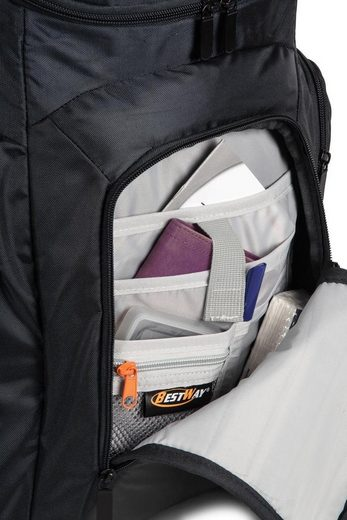 Laptoprucksack Schwarz« Laptoprucksack »bestway Rucksack »bestway dA8q0