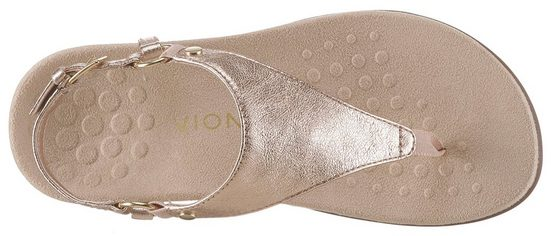 Mit finish Trendigem Vionic Metallic Sandale 6wIna5