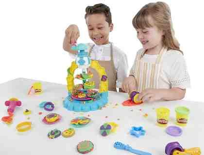 Hasbro Knetset, »Play-Doh, Keks-Karusell«