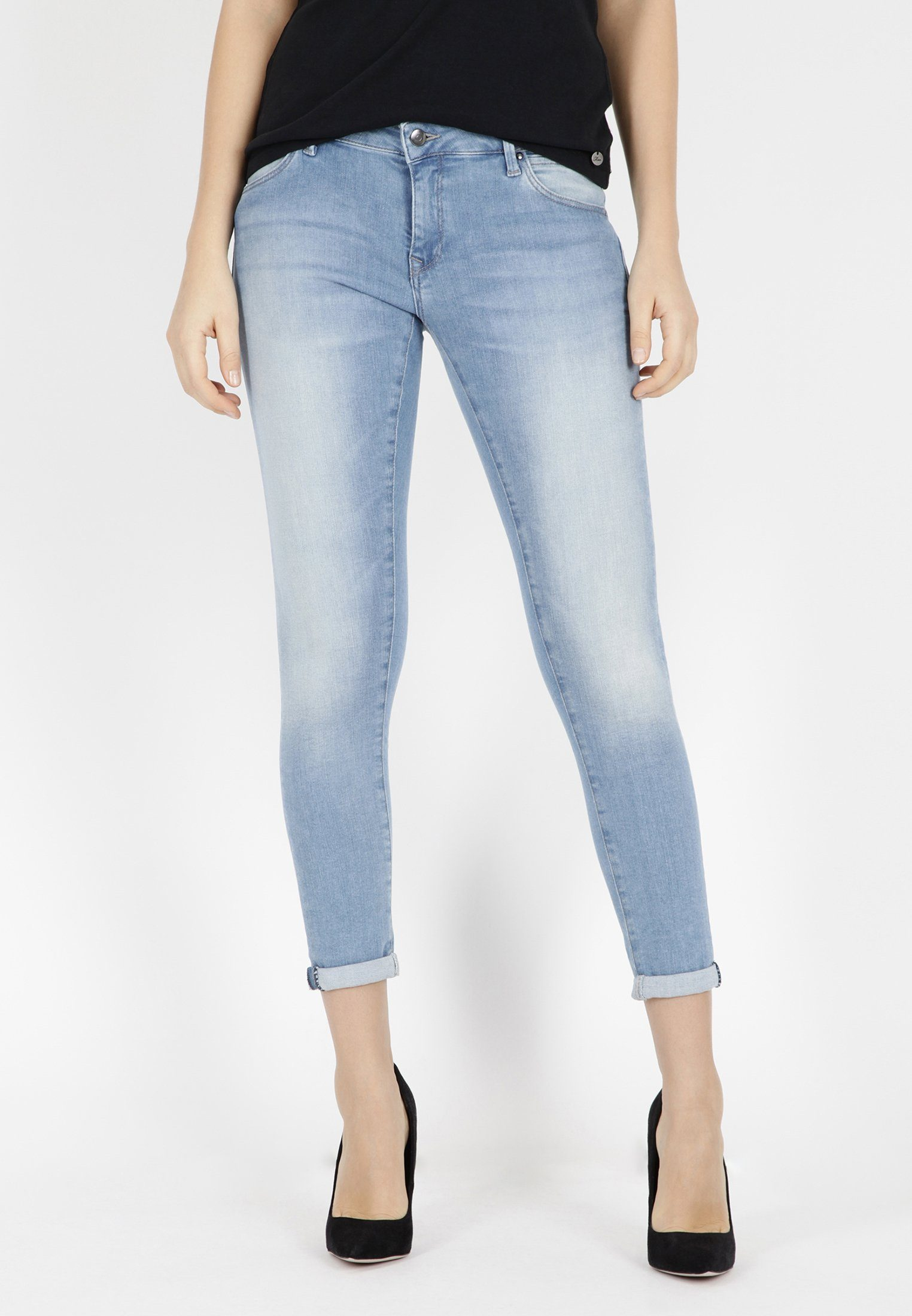 Mavi Ankle-Jeans »LEXY« gekrempelte Ankle Джинсы