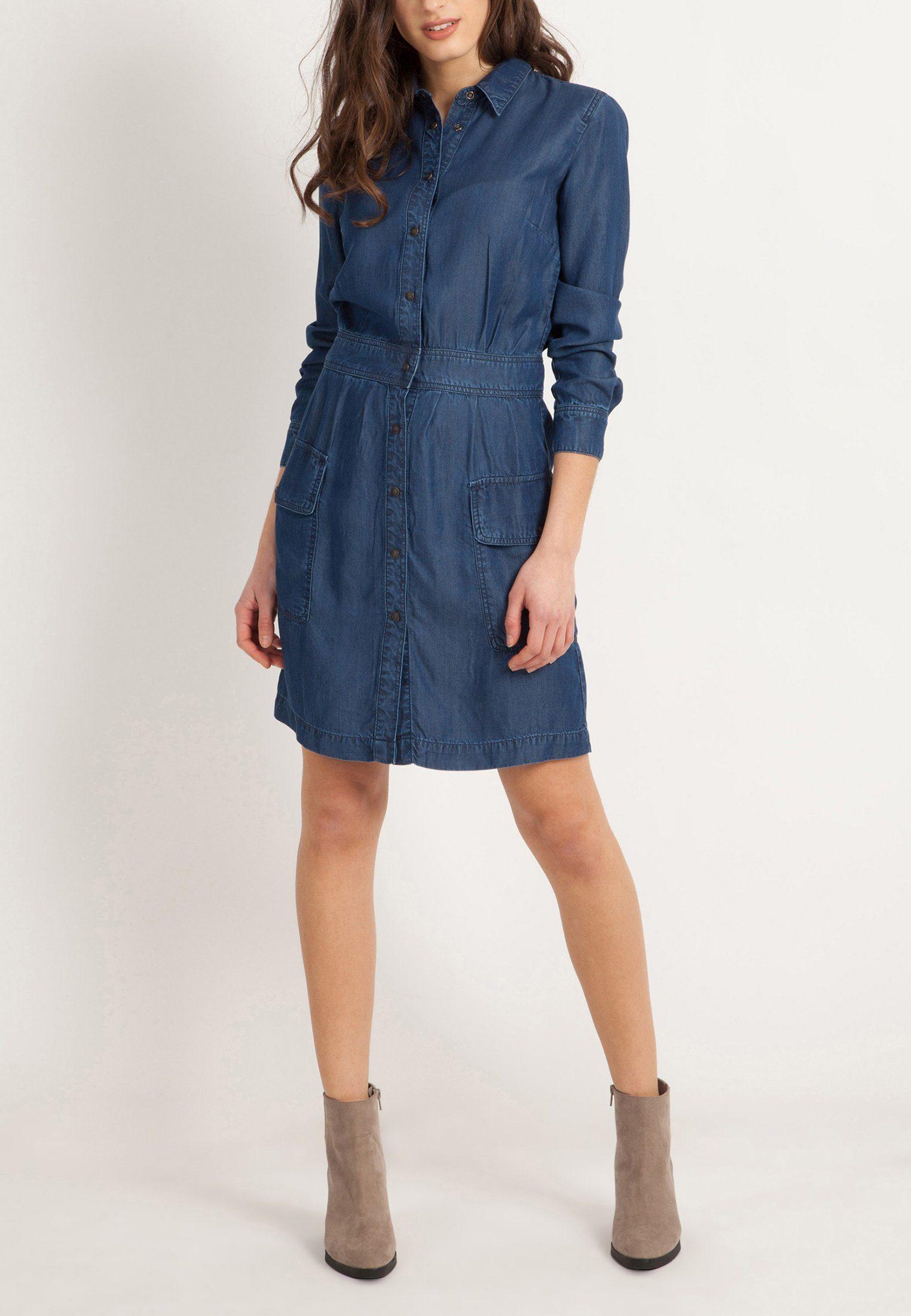 Mavi Jeanskleid »DENIM DRESS« Strukturierte Form