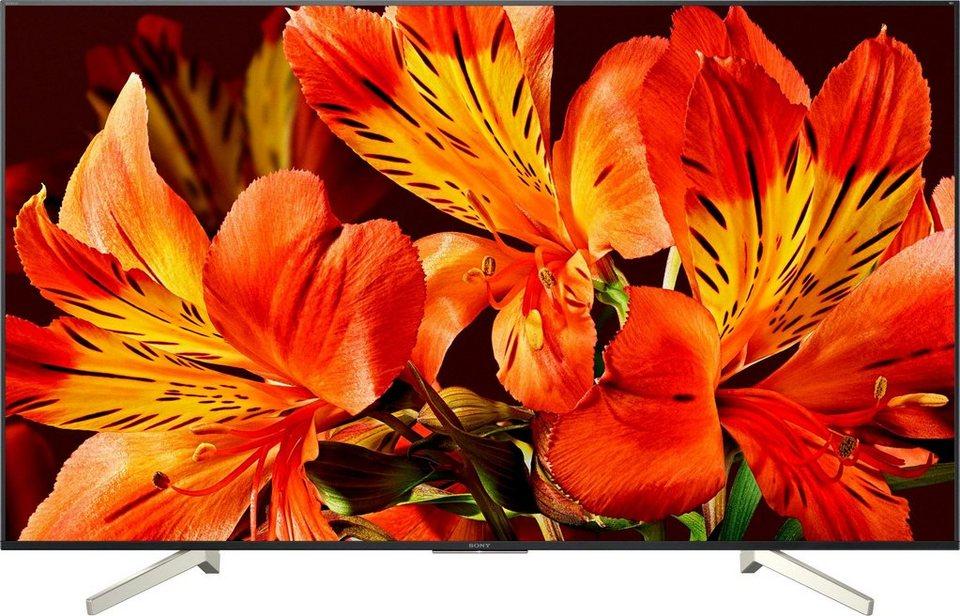 Tv 85 Zoll : sony kd85xf8596baep led fernseher 215 cm 85 zoll 4k ultra hd smart tv online kaufen otto ~ Watch28wear.com Haus und Dekorationen