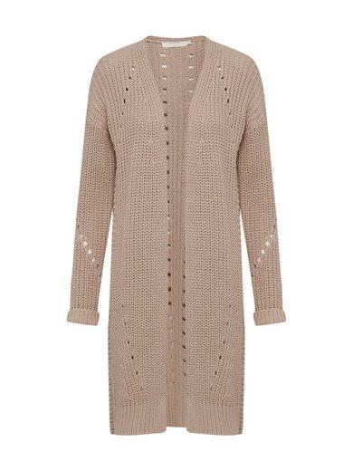 Cream Longstrickjacke »Vasia knit Cardigan« Lochmuster