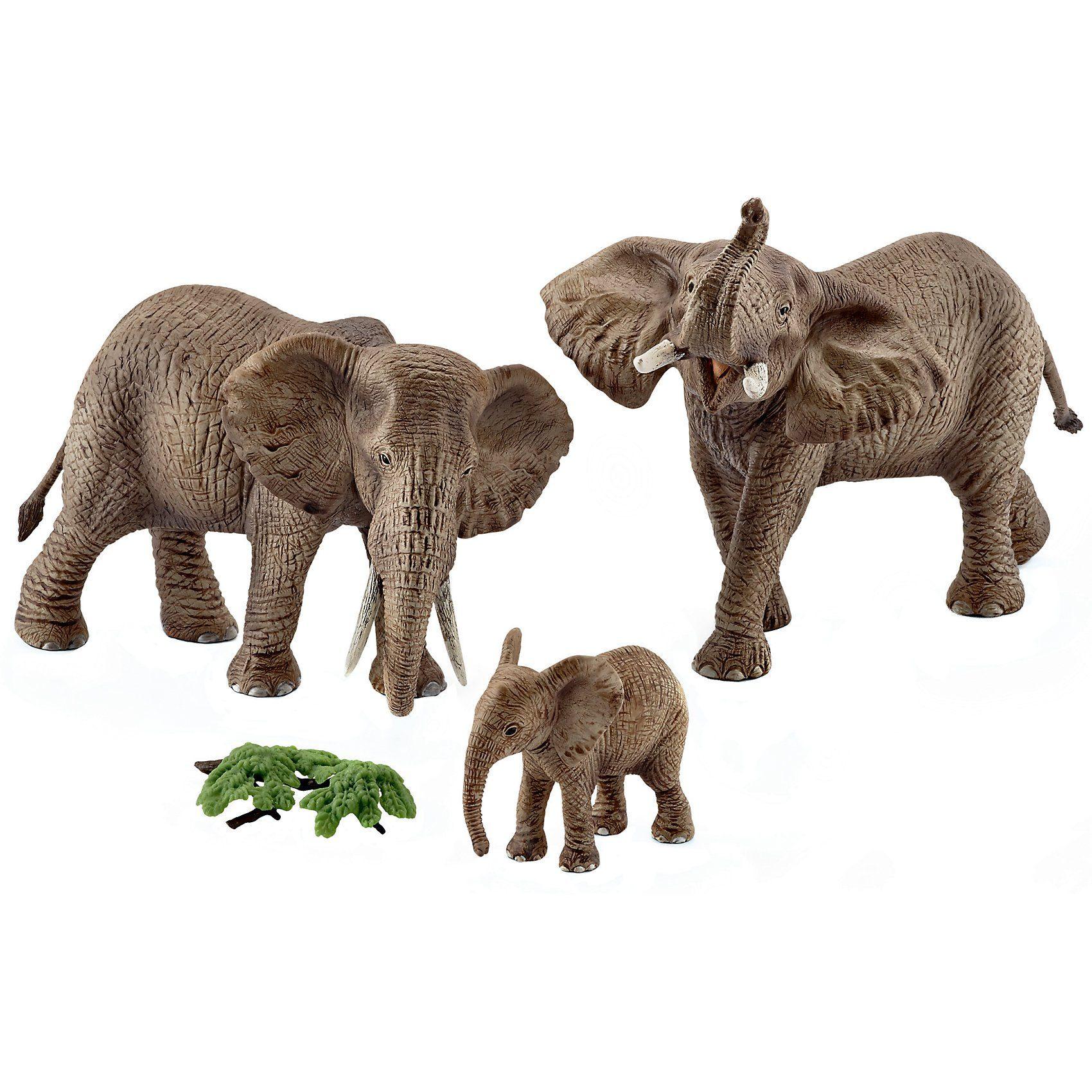 Schleich® 42337 Wild Life: Afrikanische Elefantenfamilie