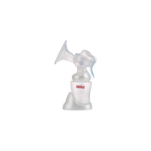 Nuby Manuelle Milchpumpe mit 240 ml Weithalsflasche