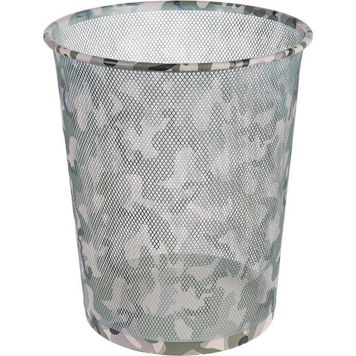 Idena Papierkorb, Camouflage, 10,8 l