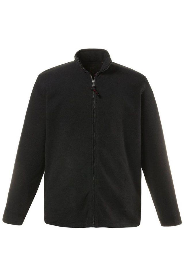 jp1880 -  Fleecejacke bis 7 XL, Fleece Jacke, Sweat-Jacke mit Stehkragen, Reißverschluss & 2 Taschen, Outdoor Kleidung