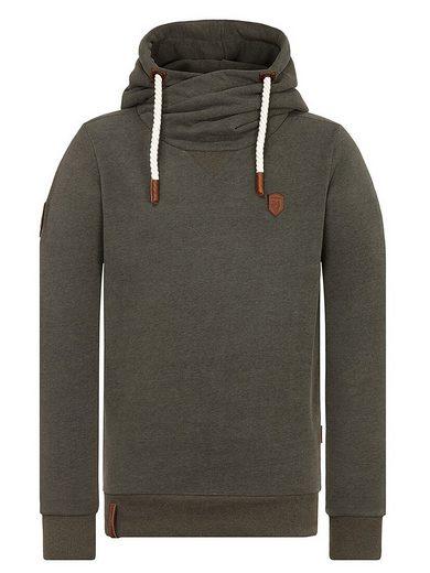 naketano Kapuzensweatshirt »Dirty Küfürbaz AMK«