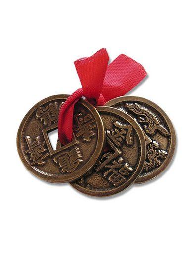 Adelia´s Amulett »Alte Symbole Talisman«, Feng Shui Glücksmünzen - Für Wohlstand und Überfluss