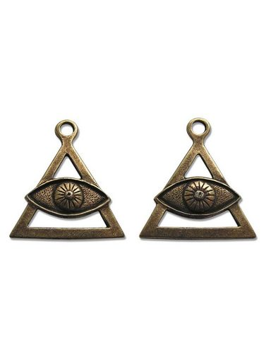 Adelia´s Amulett »Alte Symbole Talisman« Auge des Propheten - Für Schutz und Abwehr gegen Negatives