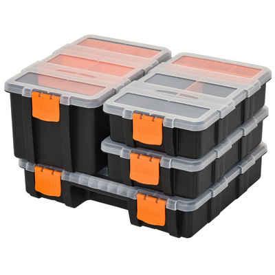 Durhand Werkzeugbox »Werkzeugaufbewahrung Box 4-teiliges set«