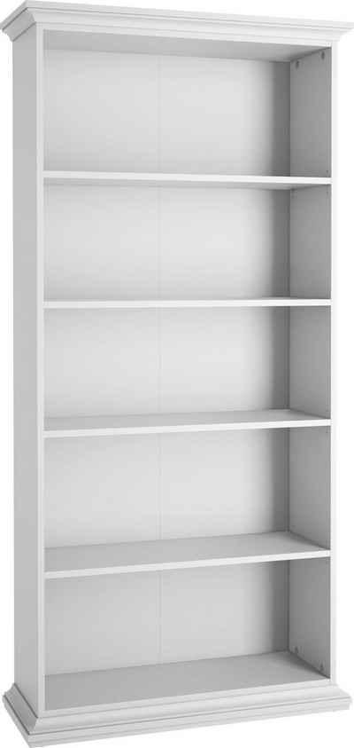 Home affaire Bücherregal »Paris«, mit 4 Einlegeböden für viele Stauraummöglichkeiten, Höhe 200 cm