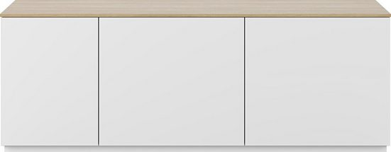 TemaHome Lowboard »Join«, mit Push-to-Open-Funktion, aus schöner Honeycomb-Bauweise, Breite 160 cm