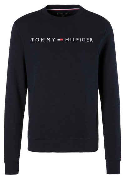 f31121ba2 TOMMY HILFIGER Sweatshirt mit aufgestickten Markenschriftzug auf der Brust