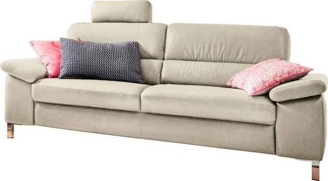 Sofas - DELAVITA 3 Sitzer »Constanze«, wahlweise mit teilmotorischer Relaxfunktion  - Onlineshop OTTO